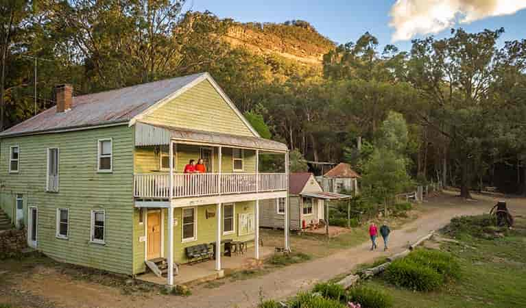 yerranderie-post-office-lodge attraction near highlands motor inn - oberon - nsw 1